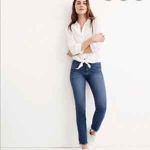 Madewell Slim Straight Jeans Raw Edition 30